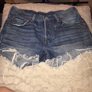 Levis short shorts